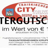 City Taxi Gutscheine